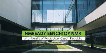 NMReady Benchtop NMR at the University of Pardubice