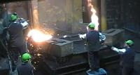 Fonderie Saguenay's Pouring of 16,000 lbs Gray Iron Casting