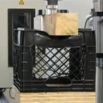 Compression Test on Milk Crate Using Instron Machine