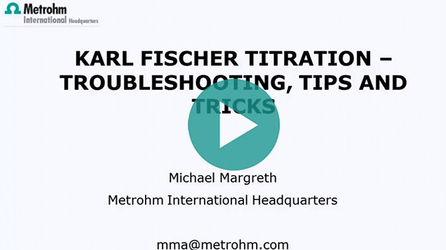 KF titration: Troubleshooting