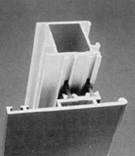 AZoM - Metals, ceramics, polymers and composites - aluminium extrusions in buildings, design flexibility, thermal barrier designs