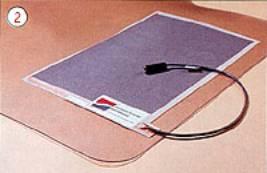 Self heating laminate panel.