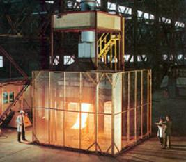 AZoM - Metals, Ceramics, Polymers and Composites: full scale fire calorimeter for testing fire resistance of materials.
