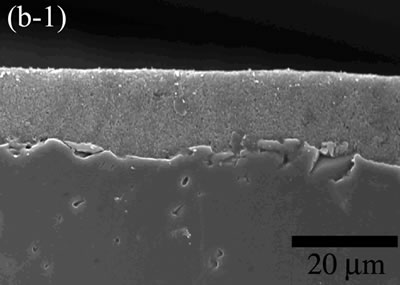 AZoJoMo – AZoM Journal of Materials Online - The variation of cross-sectional and plan images of 2D Al2O3/5 vol% Ni nanocomposite, that were coated on rough substrate and densified at 1100oC.