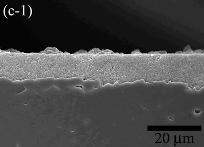 AZoJoMo – AZoM Journal of Materials Online - The variation of cross-sectional and plan images of 2D Al2O3/5 vol% Ni nanocomposite, that were coated on rough substrate and densified at 1200oC.
