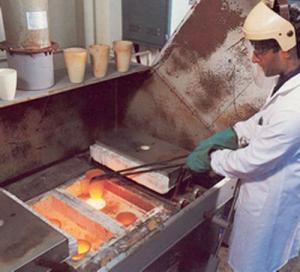 Crucible furnace for the Precious Metals Market (SCF)