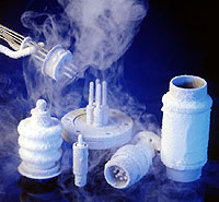 Cryogenic testing of hermetic products