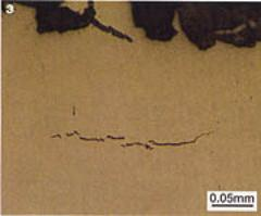 AZoM - Metals, ceramics, polymers and composites : Hydrogen cracks in a railway track
