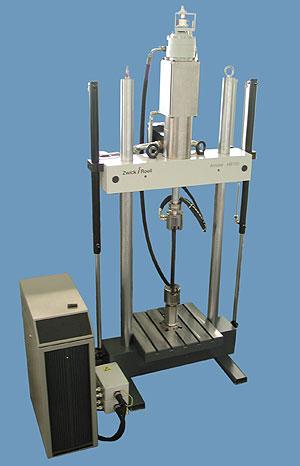 AZoM - Metals, ceramics, polymers and composites - Zwick HB 100 servo hydraulic testing machine