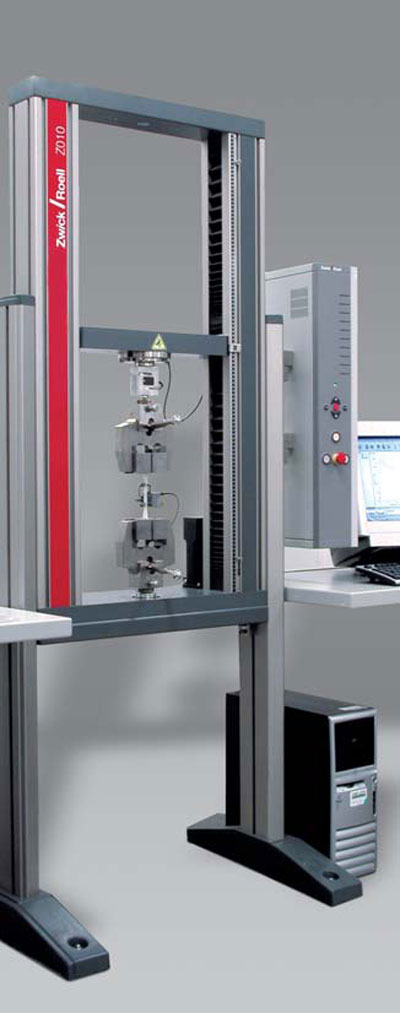 Allround-Line Z010 equipped for tensile testing
