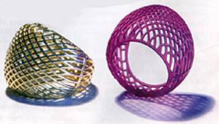 AZoM - Metals, Ceramics, Polymer and Composites : Amethyst SL, A Photoreactive Epoxy Resin Stereolithography Material Designed for Jewellery Manufacture