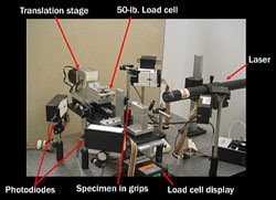 AZoM - Metals, Ceramics, Polymer and Composites : Test Rig for Optimising The Strength of Platinum Jewelry Alloys